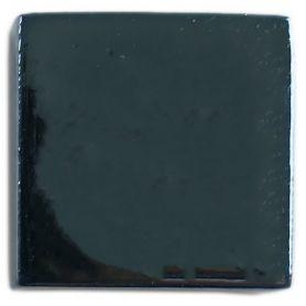 Emaux de Briare métallisés couleur CHROME bleu pour mosaïque 2,5 × 2,5 cm vue de biais