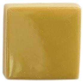 Emaux de Briare métallisés couleur PALLADIUM jaune pour mosaïque 2,5 × 2,5 cm