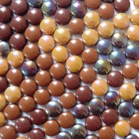 Mini-cabochons COCKTAIL CHOCOLAT CARAMEL vendus par 100 g ou 300 g