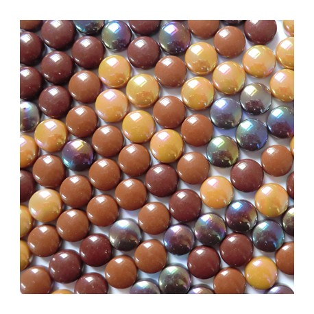 Mini-cabochons COCKTAIL CHOCOLAT CARAMEL vendus par 100 g ou 300 g