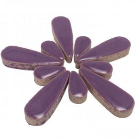 Céramiques Gouttes d'eau HORTENSIA violet