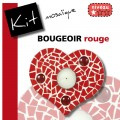 Bougeoir COEUR ROUGE