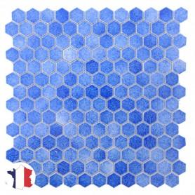 Emaux de Briare Gemmes ASTER AB34 bleu sur filet