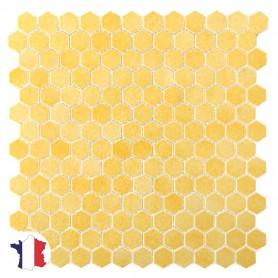 Emaux de Briare Gemmes GENȆT AB10 jaune sur filet