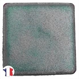 Emaux de Briare métallisés couleur CHROMURE bleu gris pour mosaïque 2,5 × 2,5 cm
