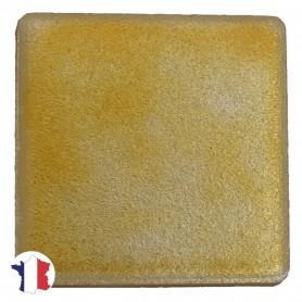 Emaux de Briare métallisés couleur DORURE doré pour mosaïque 2,5 × 2,5 cm