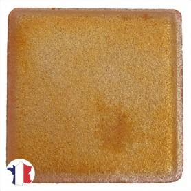 Emaux de Briare métallisés couleur OROÏDE orange pour mosaïque 2,5 × 2,5 cm