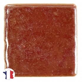 Emaux de Briare avec reflets métallisés rouge CUIVRE