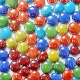 Billes de verre COCKTAIL SMARTIES vendues par 100 g ou 300 g