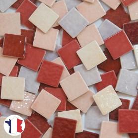 Emaux de Briare Cocktail JARDIN DE ROSES dans des tons rose et parme vendus par 1 kg ou 3 kg