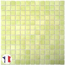 Emaux de Briare MARJOLAINE AG28 vert anis Série Limitée au m2 vendus par boîte de 9 plaques