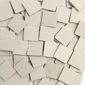 Grès cérame Blanc pur mat 2 × 2 cm