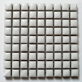 Mini-porcelaine 1 × 1 cm couleur SEL blanc pour mosaïque vendue à la plaque