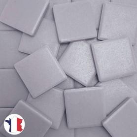 Emaux de Briare Mazurka couleur AMETHYSTE parme mats pour mosaïque 2,5 × 2,5 cm vendus par 100 g