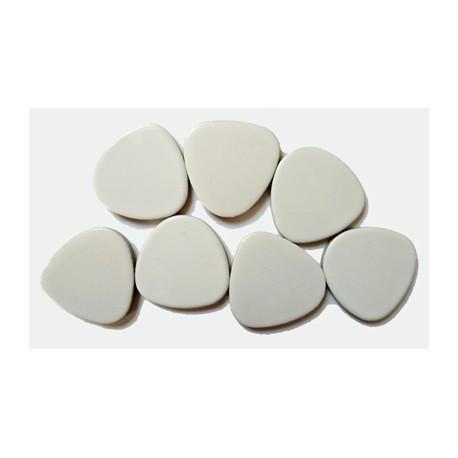 Galets japonais BANQUISE (mat) Taille 4 - 100 g