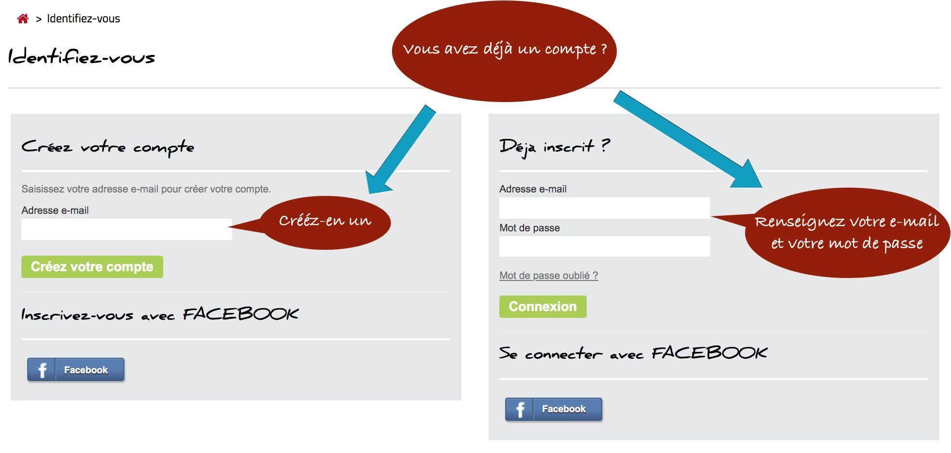 Connectez-vous ou créez votre compte sur www.cotemosaique.com